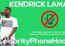 Kendrick Lamar real phone number 2019 whatsapp hacked leaked