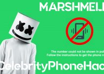Marshmello real phone number 2019 whatsapp hacked leaked