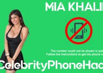 Mia Khalifa real phone number 2019 whatsapp hacked leaked