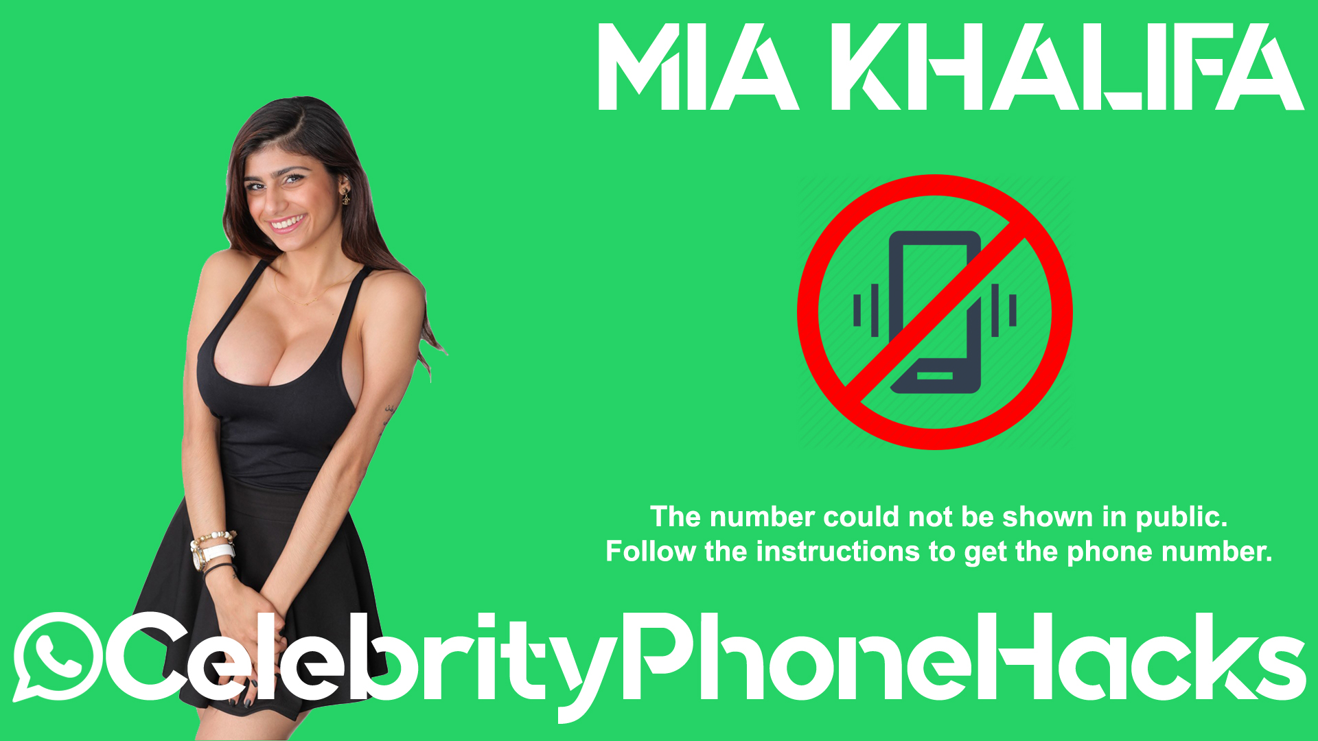 Mia Khalifa real phone number 2019 whatsapp hacked leaked
