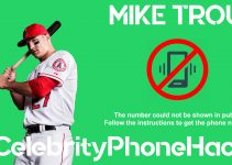 Mike Trout real phone number 2019 whatsapp hacked leaked