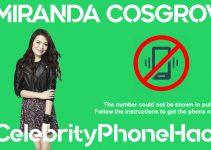 Miranda Cosgrove real phone number 2019 whatsapp hacked leaked