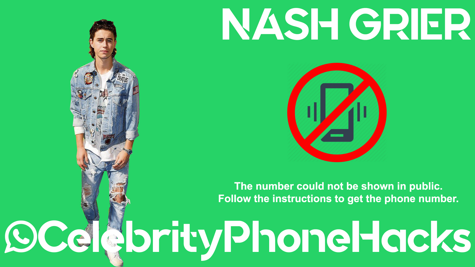 Nash Grier real phone number 2019 whatsapp hacked leaked