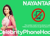 Nayantara real phone number 2019 whatsapp hacked leaked