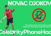 Novac Djokovic real phone number 2019 whatsapp hacked leaked