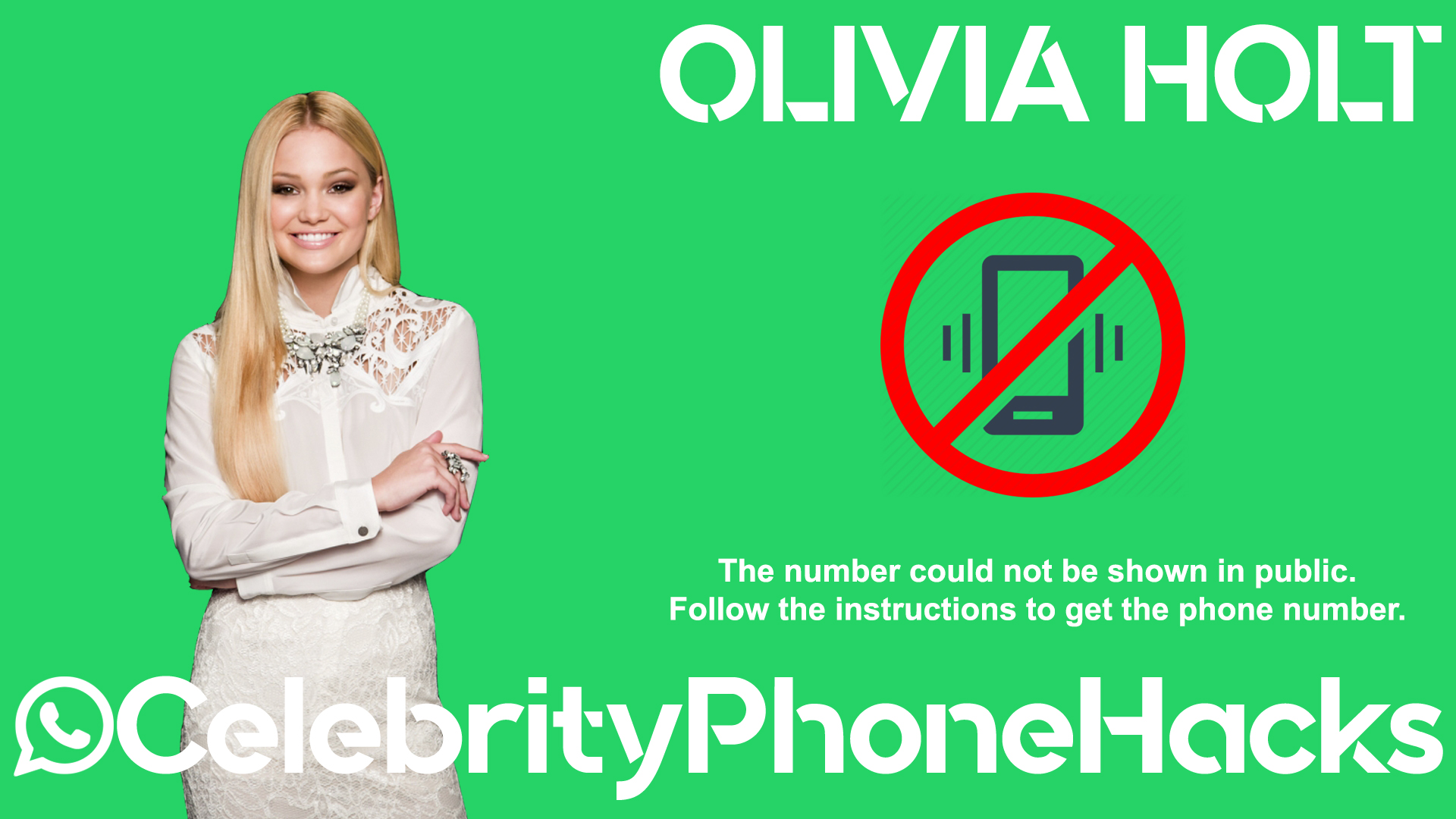 Olivia Holt real phone number 2019 whatsapp hacked leaked