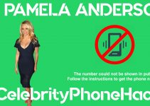 Pamela Anderson real phone number 2019 whatsapp hacked leaked