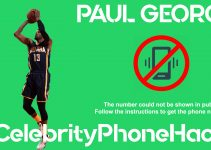 Paul George real phone number 2019 whatsapp hacked leaked