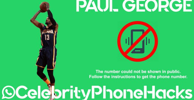 Paul George real phone number 2019 whatsapp hacked leaked