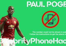 Paul Pogba real phone number 2019 whatsapp hacked leaked