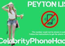 Peyton List real phone number 2019 whatsapp hacked leaked
