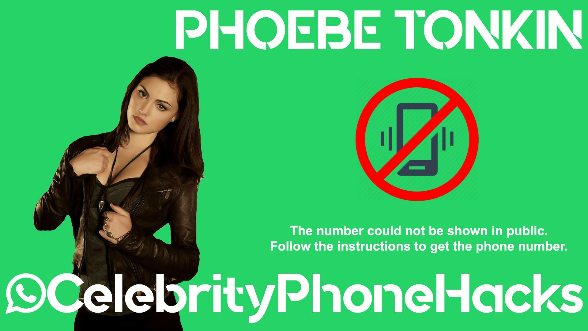 Phoebe Tonkin real phone number 2019 whatsapp hacked leaked
