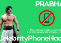 Prabhas real phone number 2019 whatsapp hacked leaked