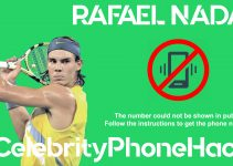 Rafael Nadal real phone number 2019 whatsapp hacked leaked