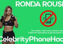 Ronda Rousey real phone number 2019 whatsapp hacked leaked
