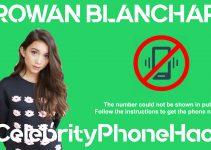 Rowan Blanchard real phone number 2019 whatsapp hacked leaked