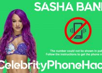 Sasha Banks real phone number 2019 whatsapp hacked leaked