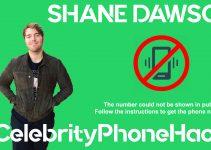 Shane Dawson real phone number 2019 whatsapp hacked leaked