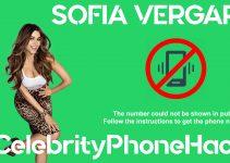Sofia Vergara real phone number 2019 whatsapp hacked leaked