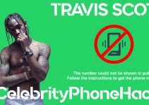Travis Scott real phone number 2019 whatsapp hacked leaked