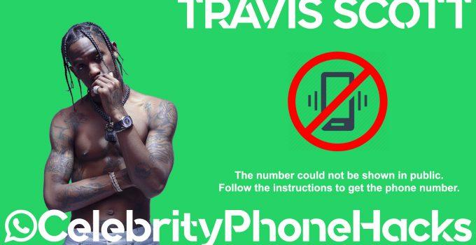 Travis Scott real phone number 2019 whatsapp hacked leaked